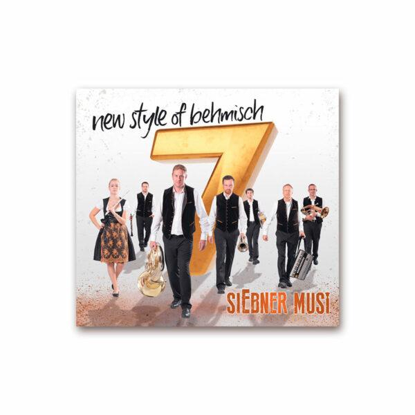 CD Siebner Musi - New Style of Behmisch